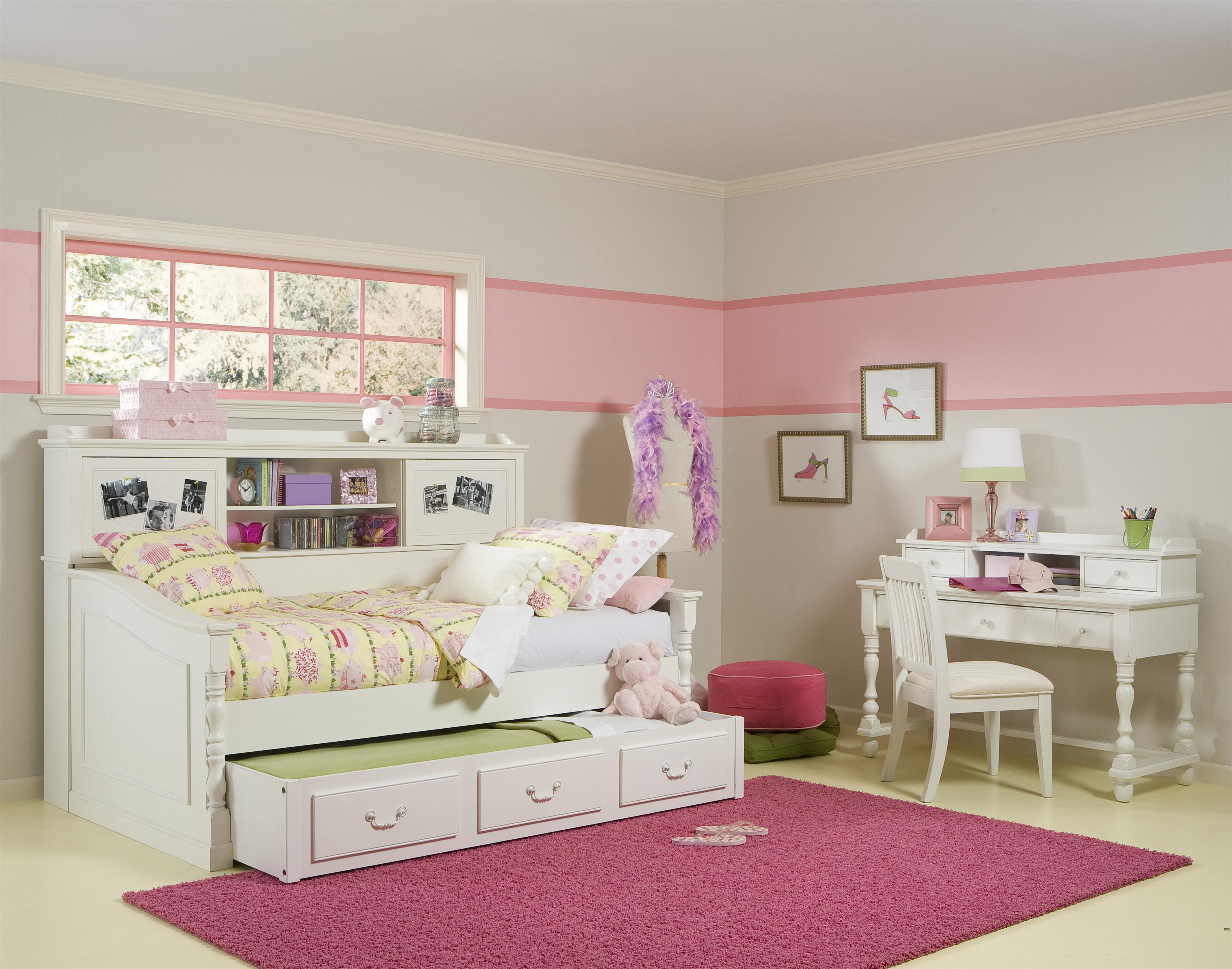 Butterfly Single Bed Frame With Drawer Storage White