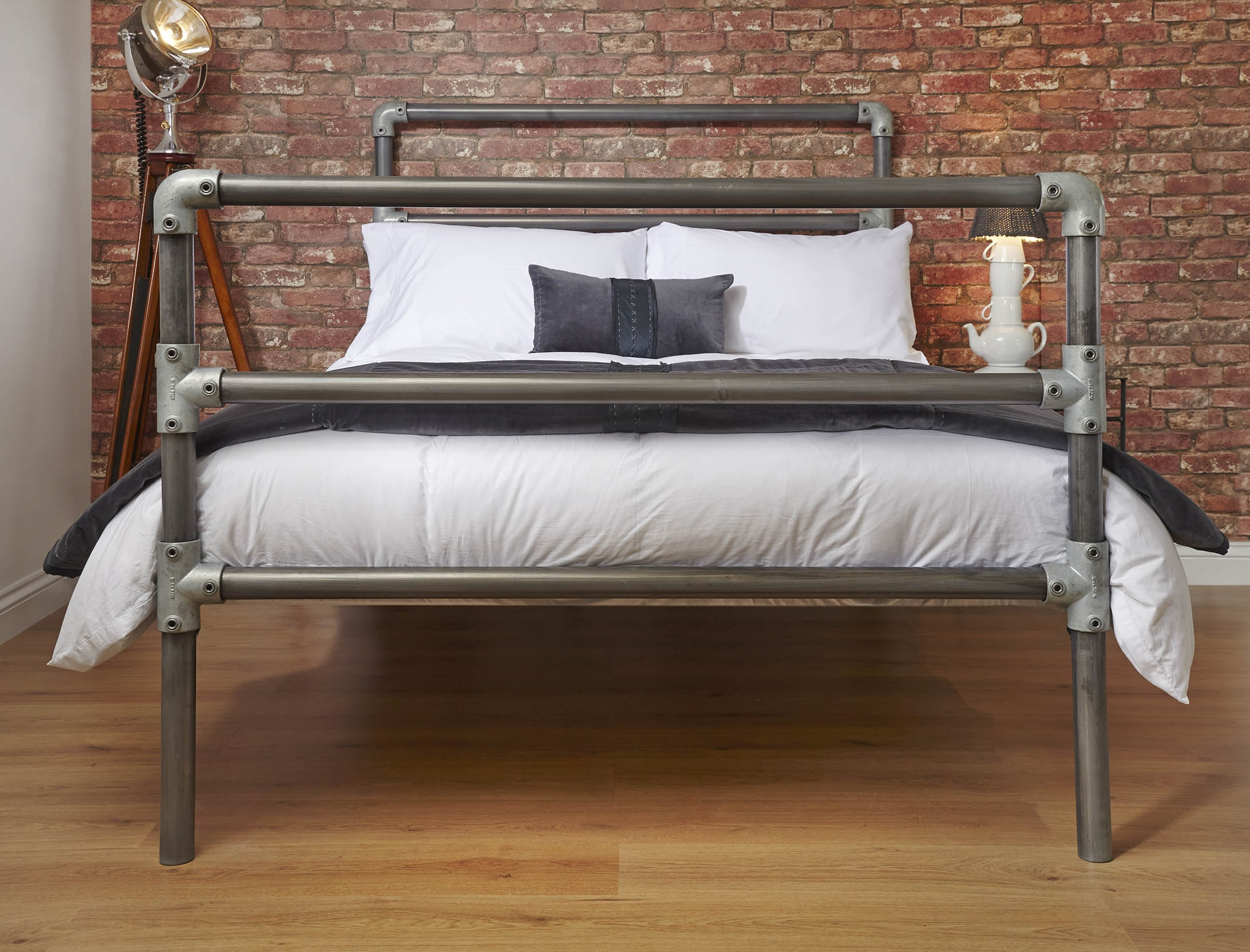 Cast Iron Pipe Bed Frame