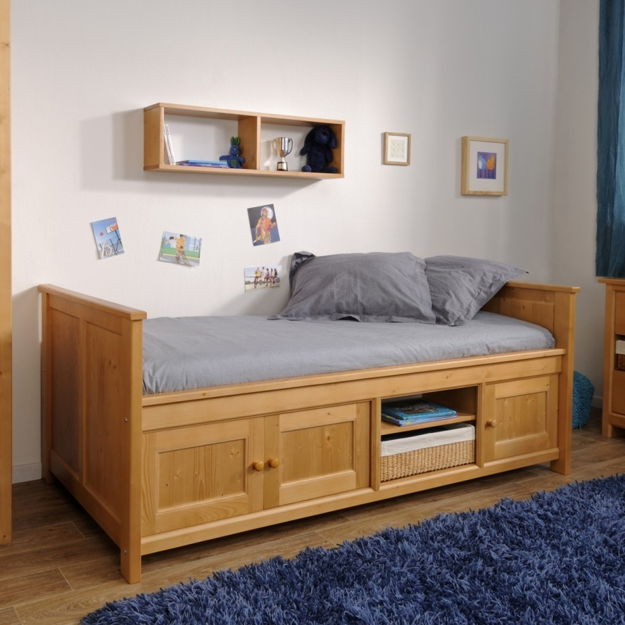 Children's Bed Frames With Storage