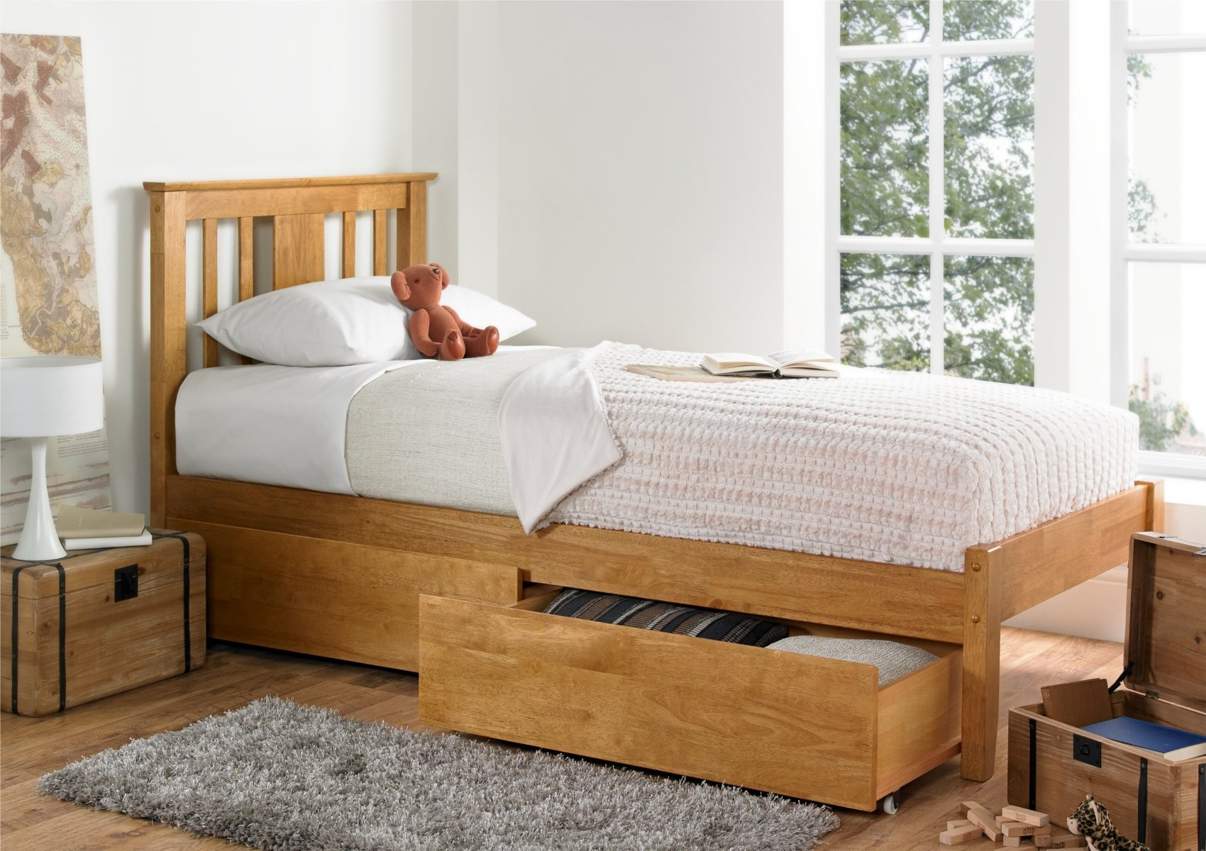 Compact Single Bed Frame