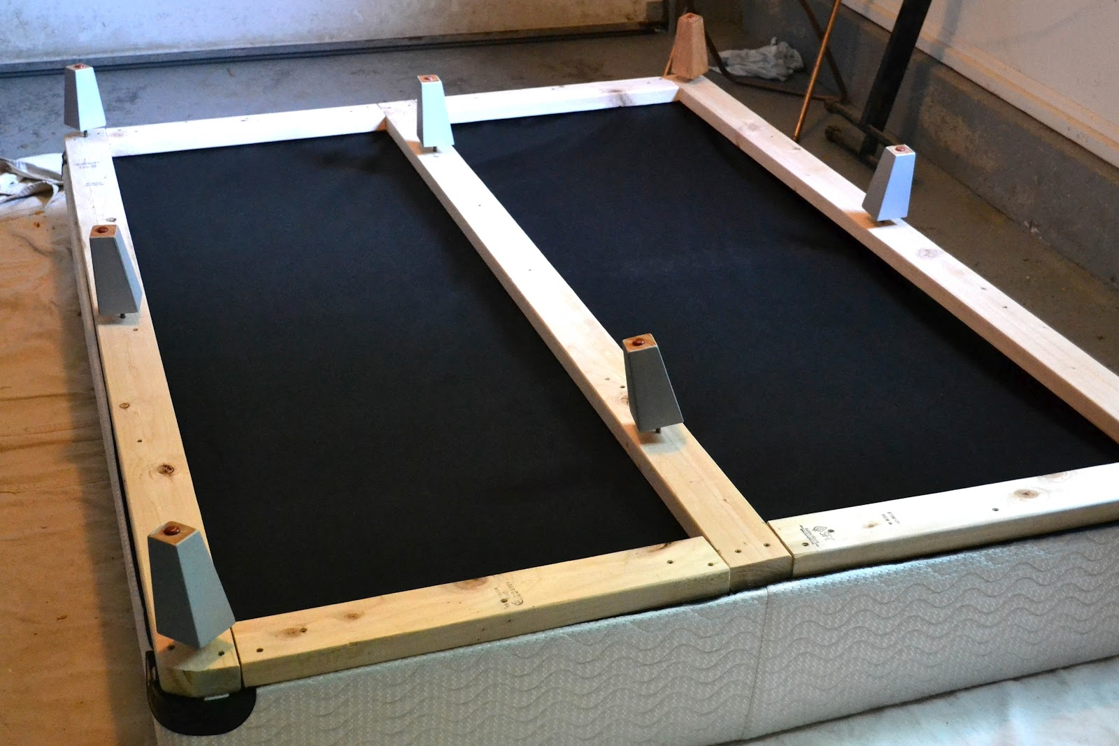 Covers For Bed Frame Legs