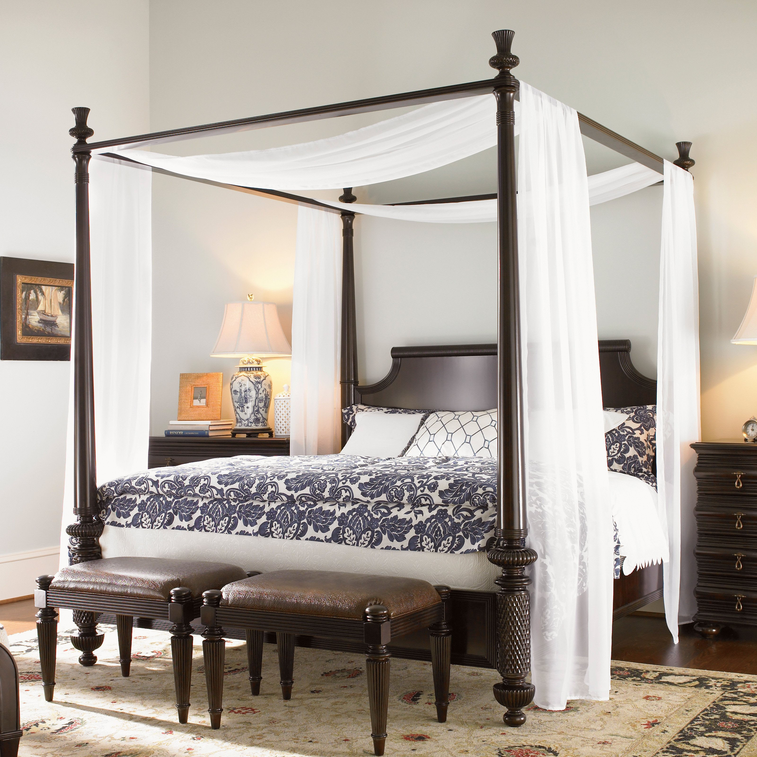 Double Bed Canopy Frame