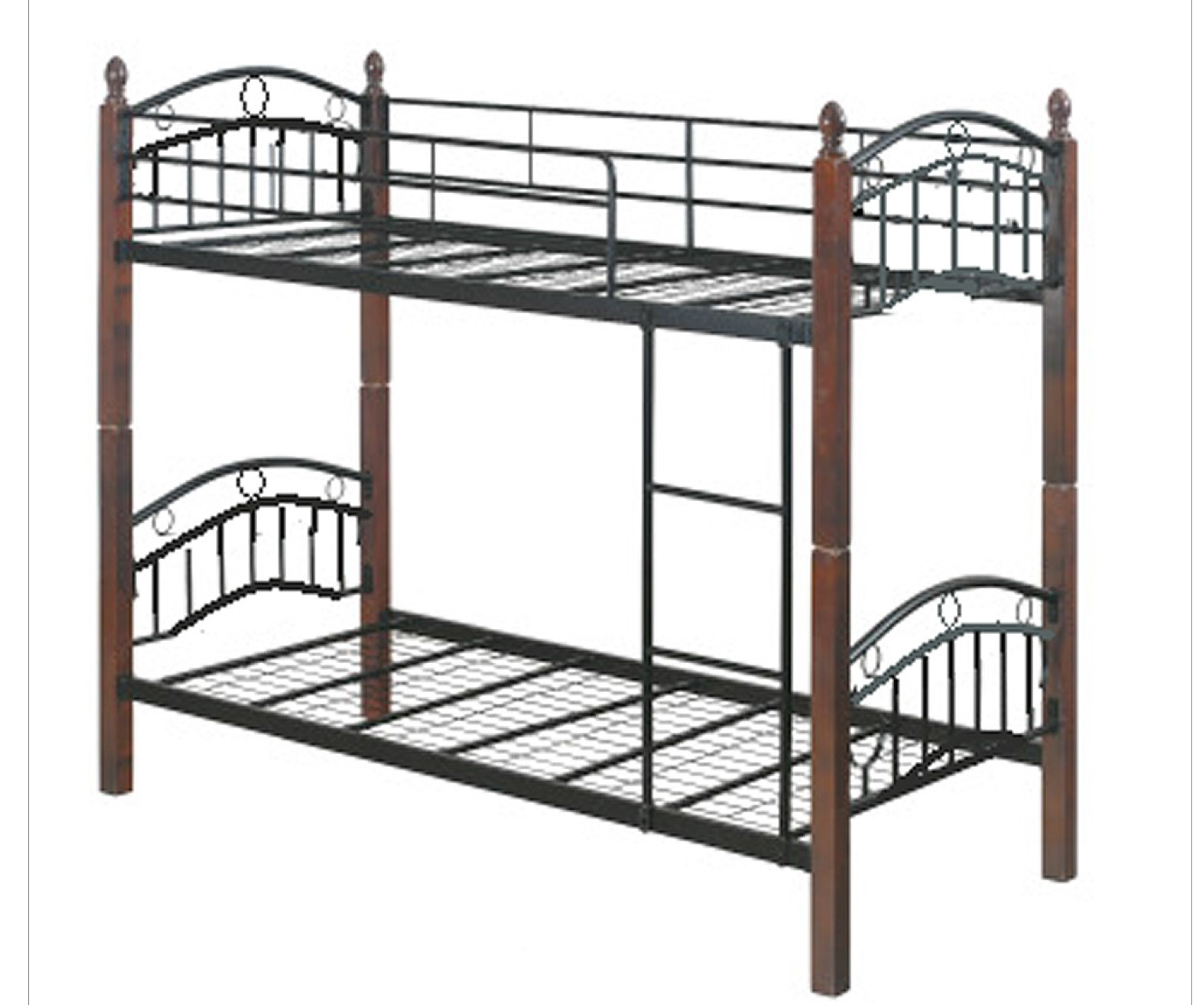 Double Decker Bed Framedew foam double deck bed frame with 4 x 36 x 75 mattress cebu