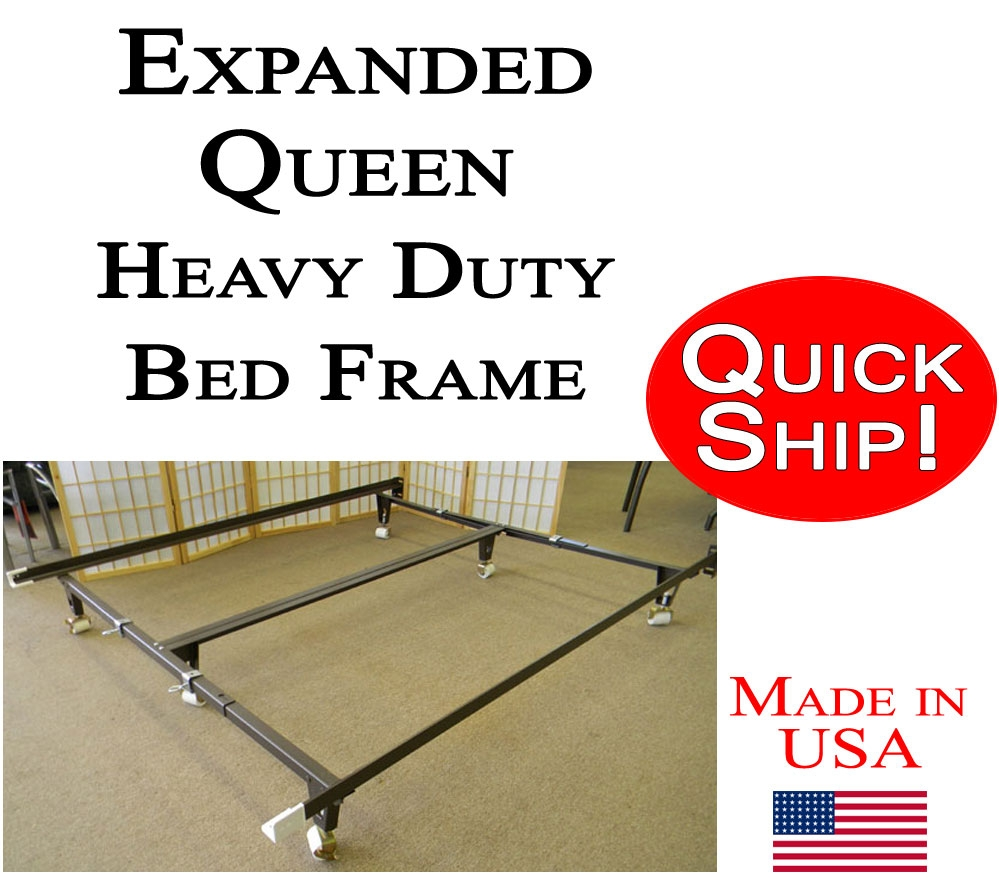 Expanded Queen Bed Frame