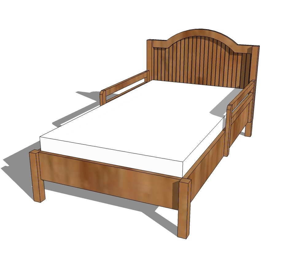 Extendable Toddler Bed Frame