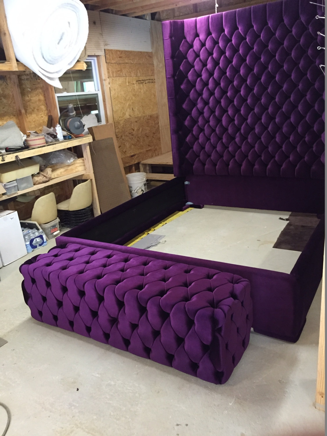 Extra Tall King Size Bed Frame