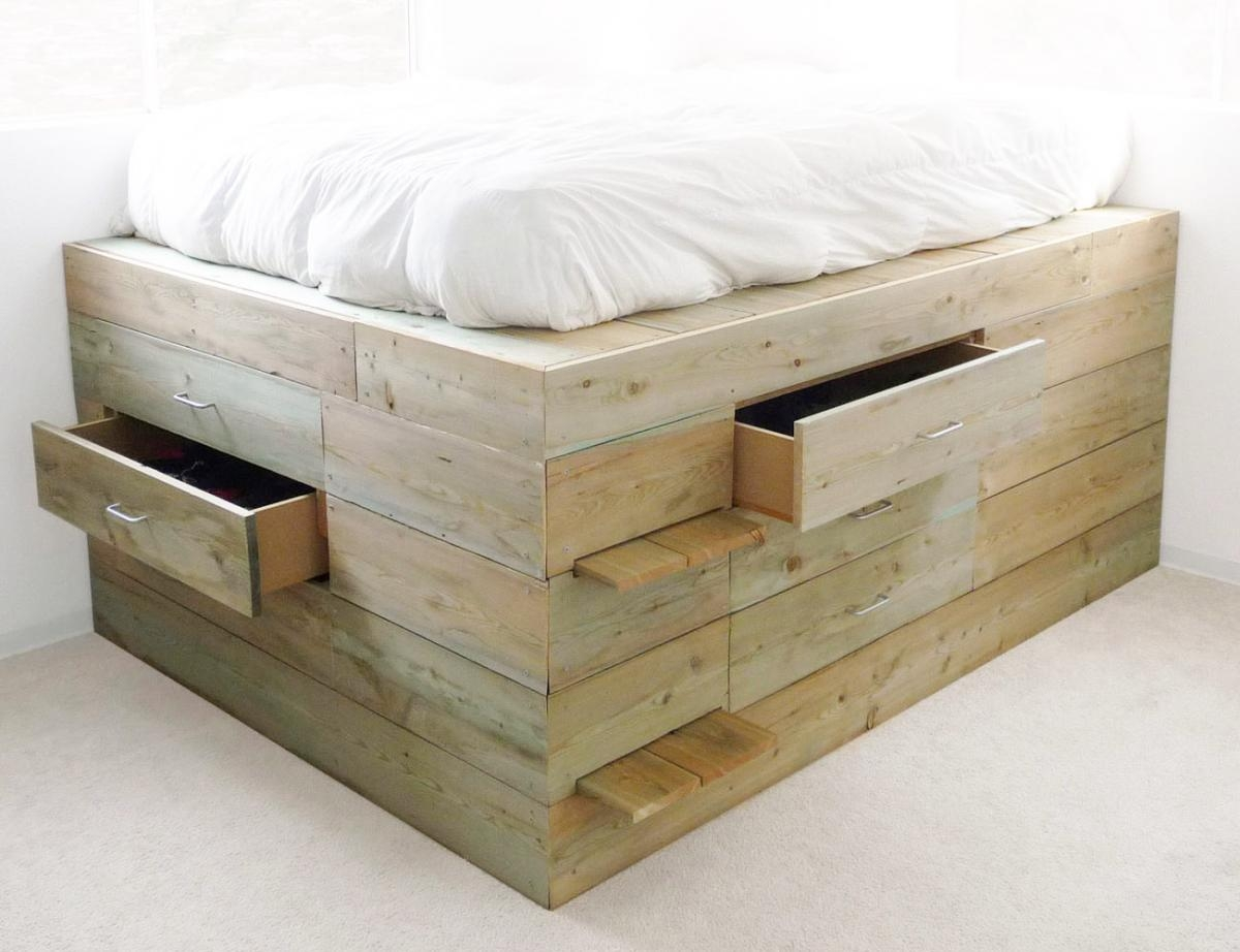 Extra Tall Platform Bed Frame