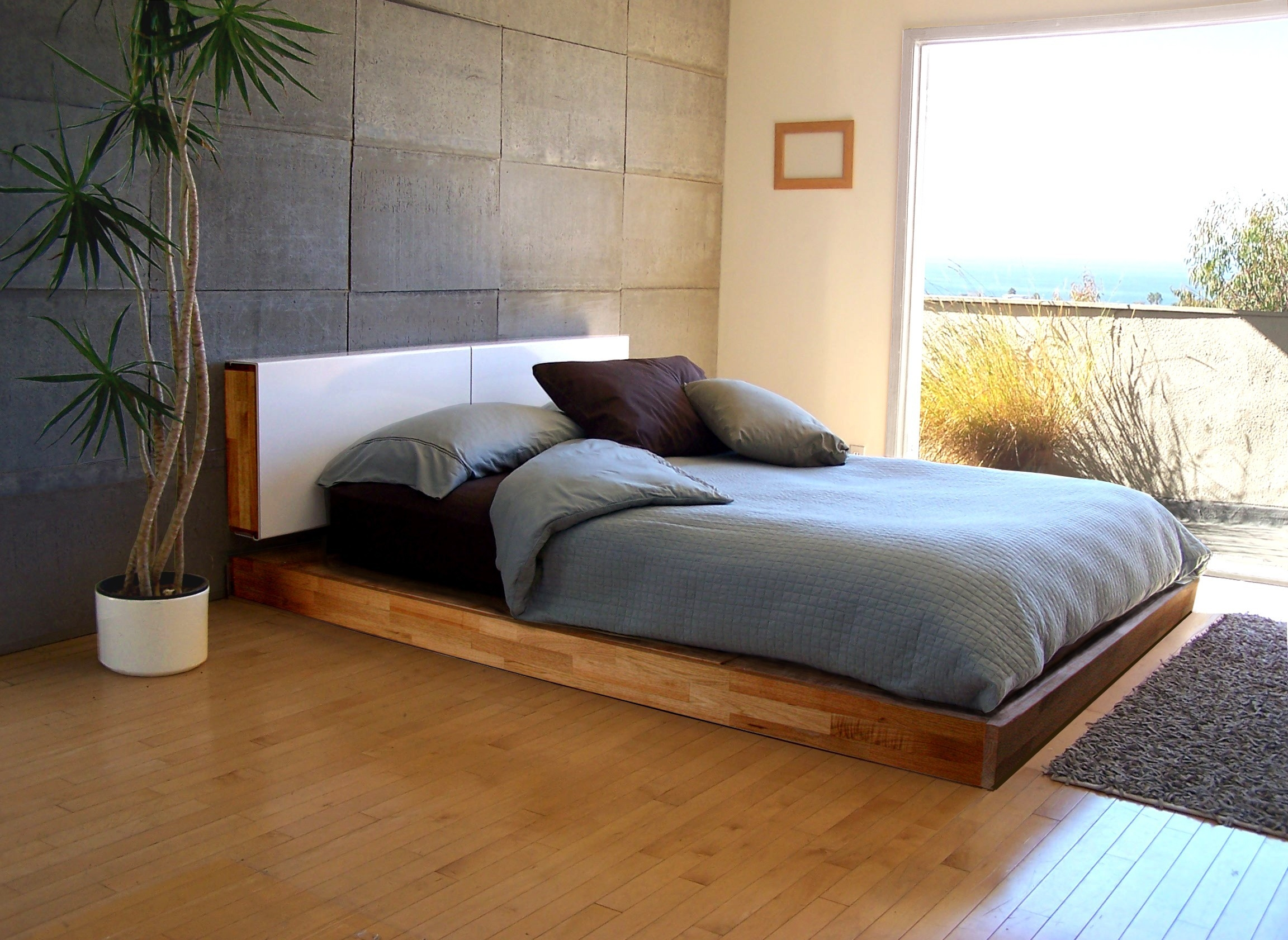 Extremely Low Bed Frame
