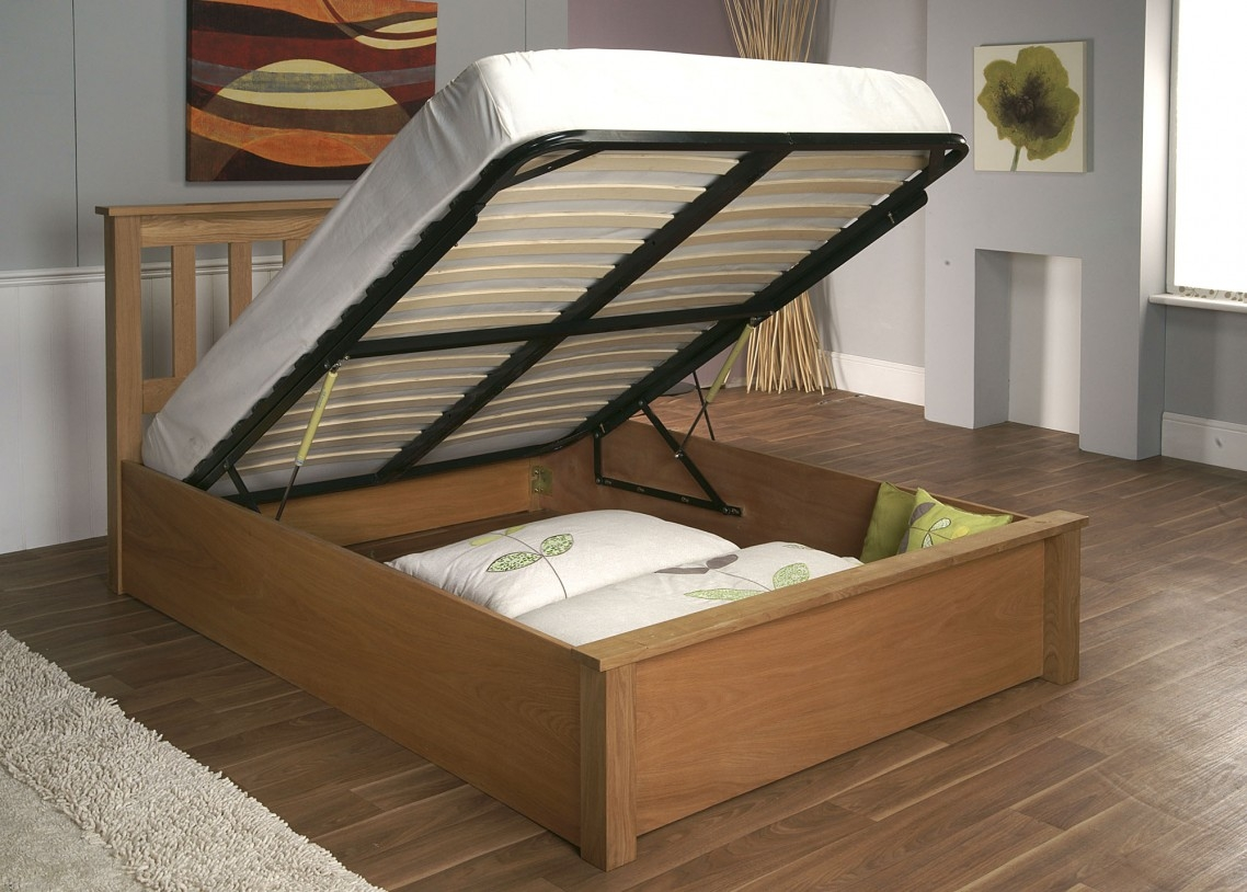 Flip Up Storage Bed Frame