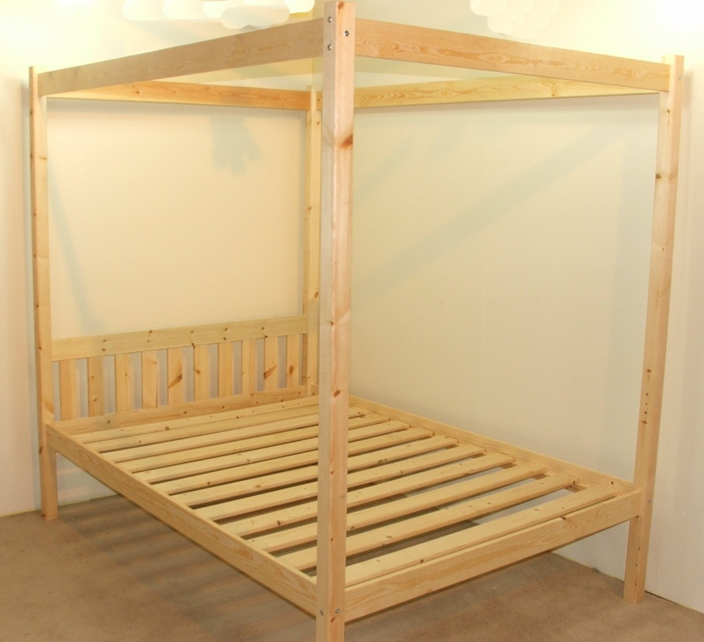 Four Poster Bed Frame Double