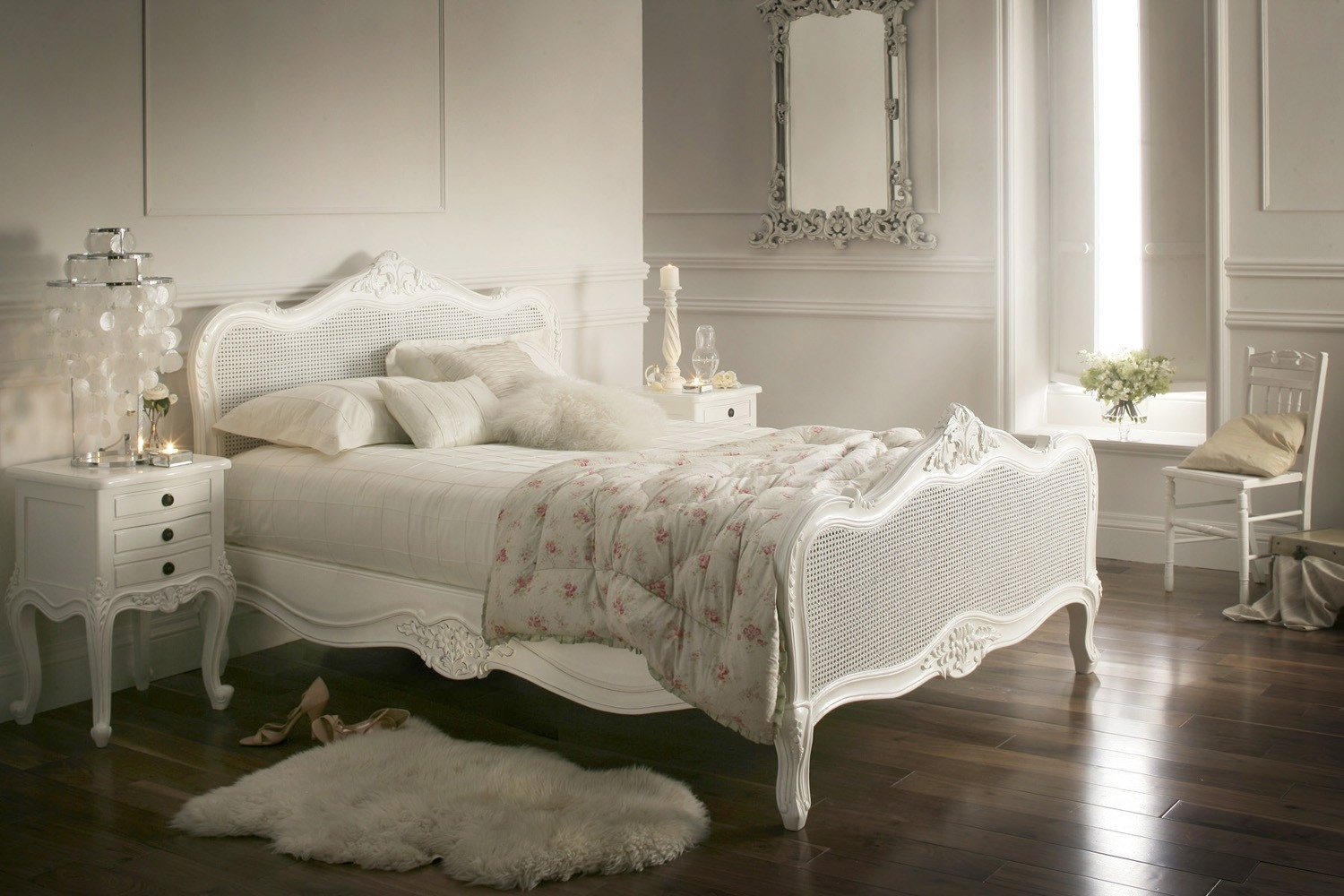 French Style King Size Bed Frame
