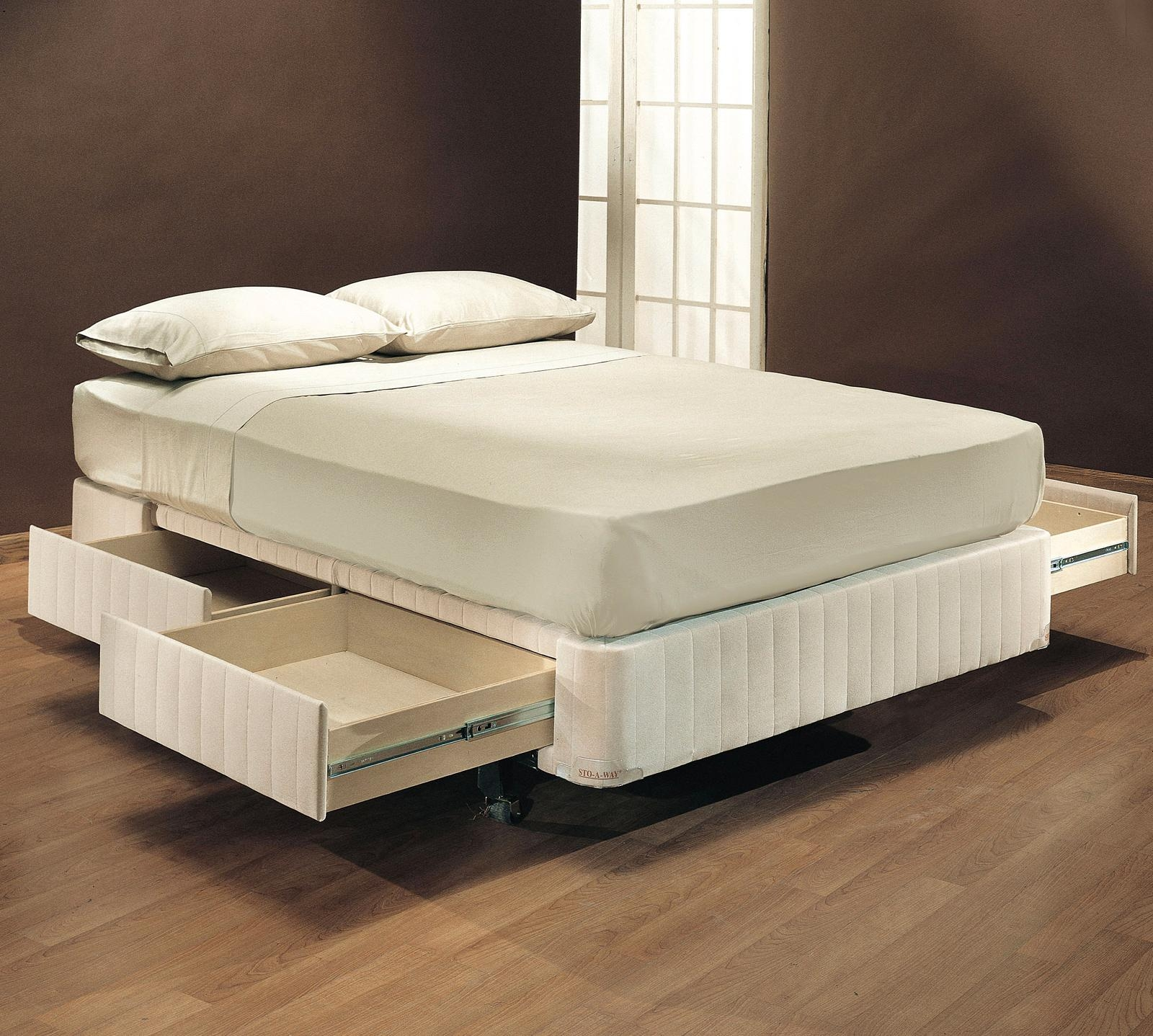 Full Size Bed Frame Without Box Spring