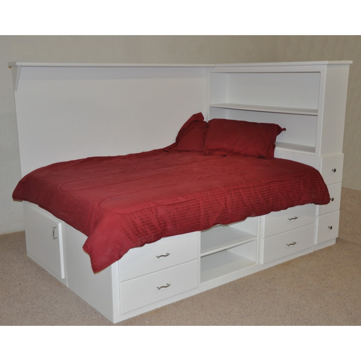 Full Size Bed Frames With Drawers