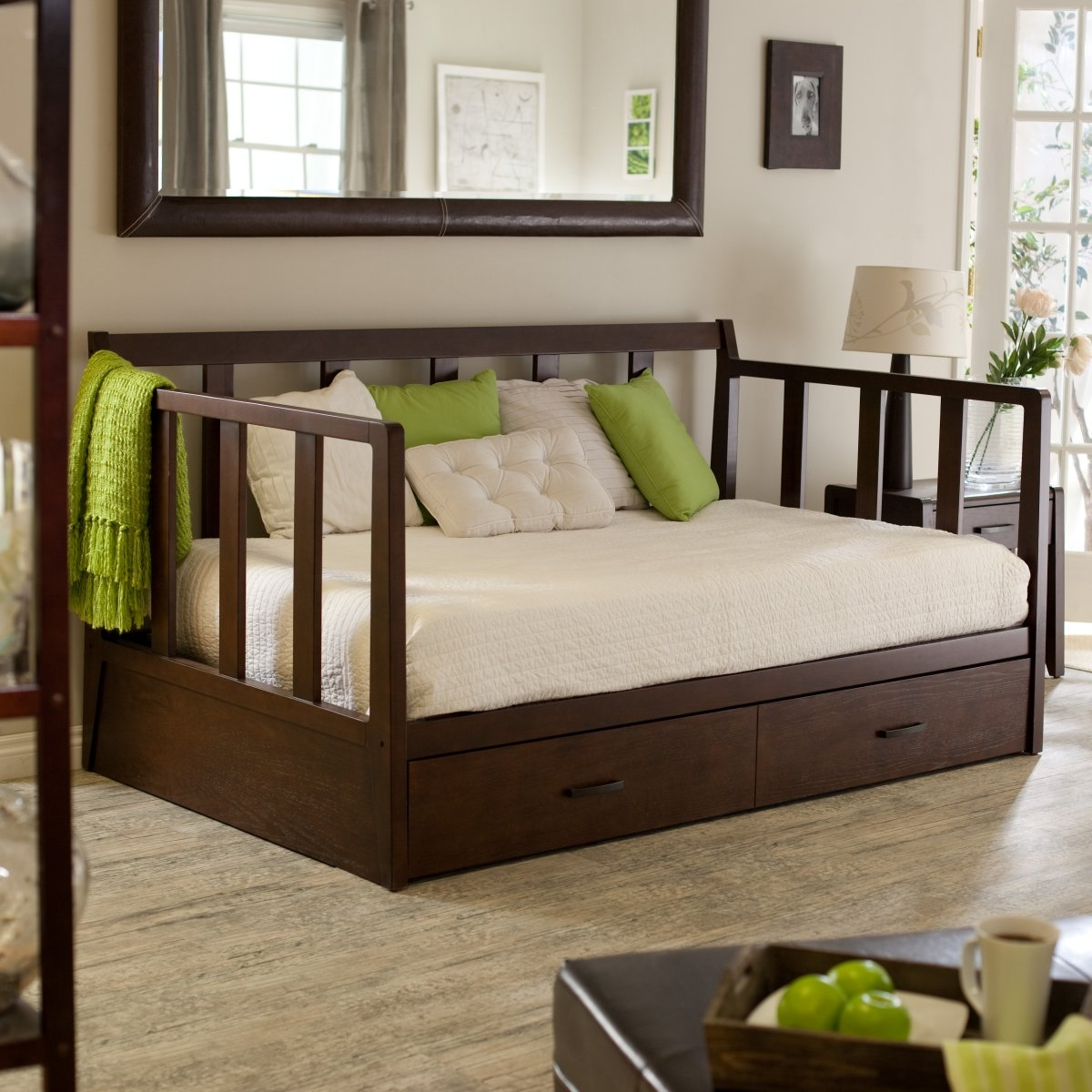 Full Size Daybed Frame With Storage