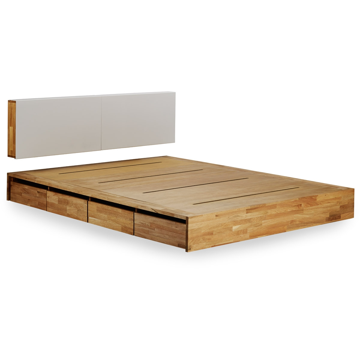 Permalink to Full Size Platform Bed Frame With Storage