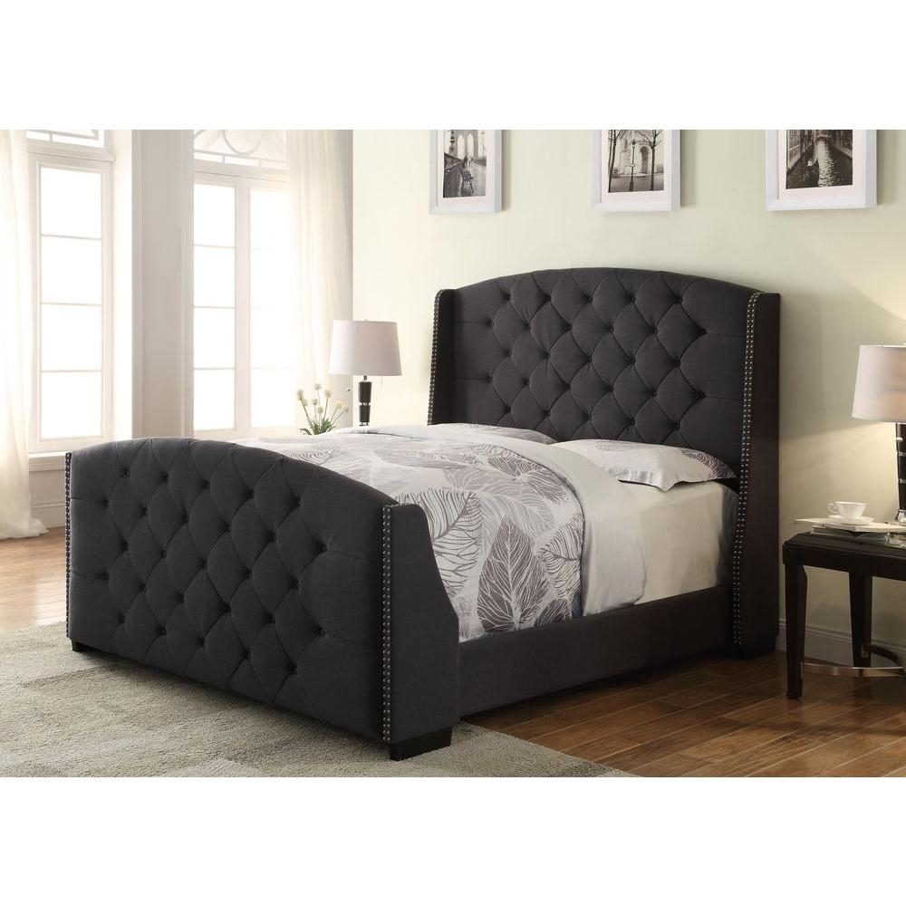 Headboard And Footboard Bed Frame For Queen Size
