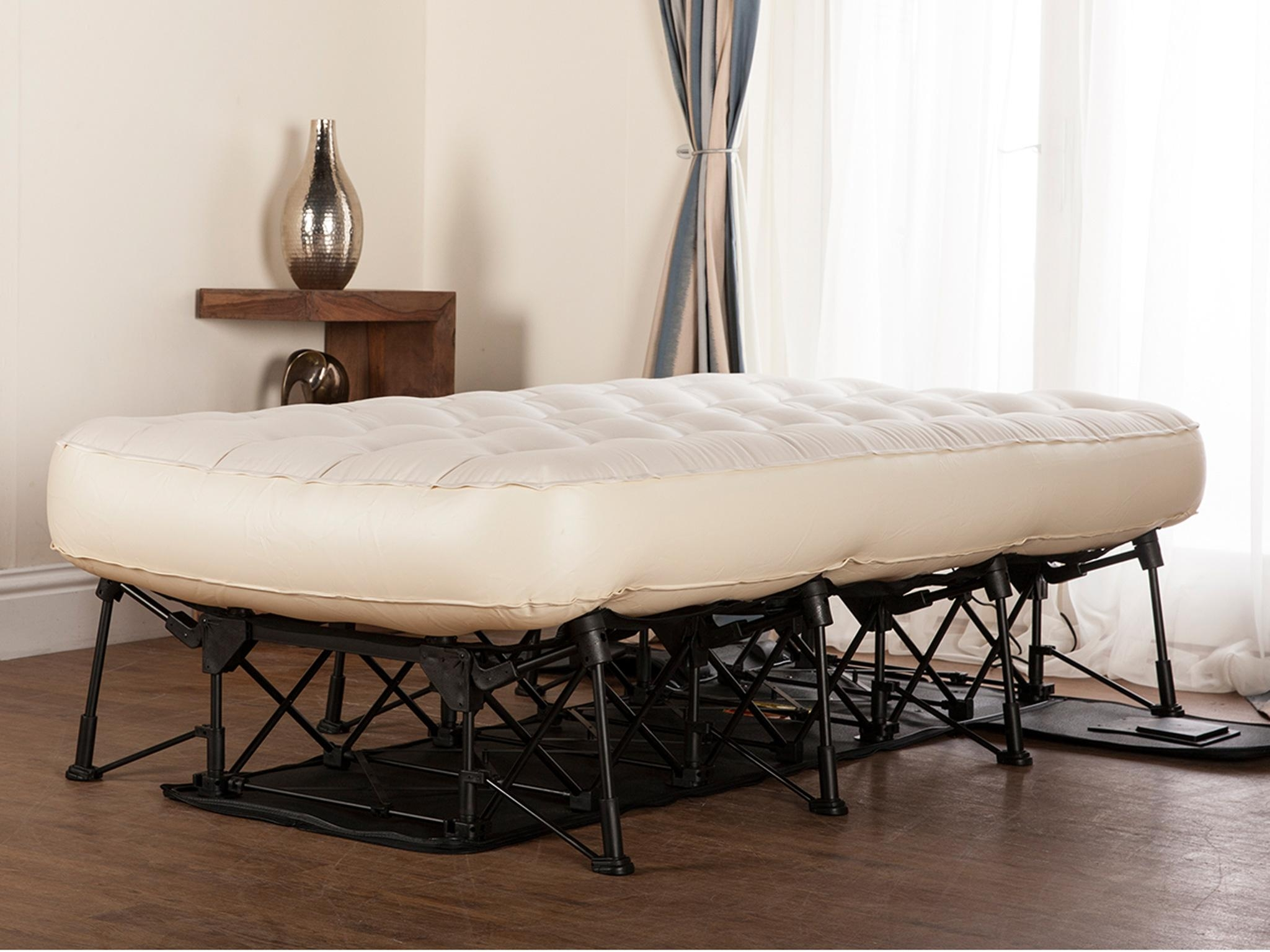 Inflatable Double Bed On Frame
