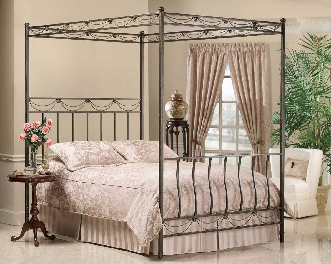 Iron Canopy Bed Frames
