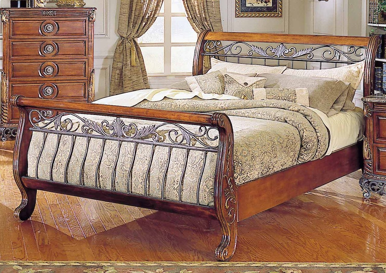 Permalink to Iron Sleigh Bed Frames
