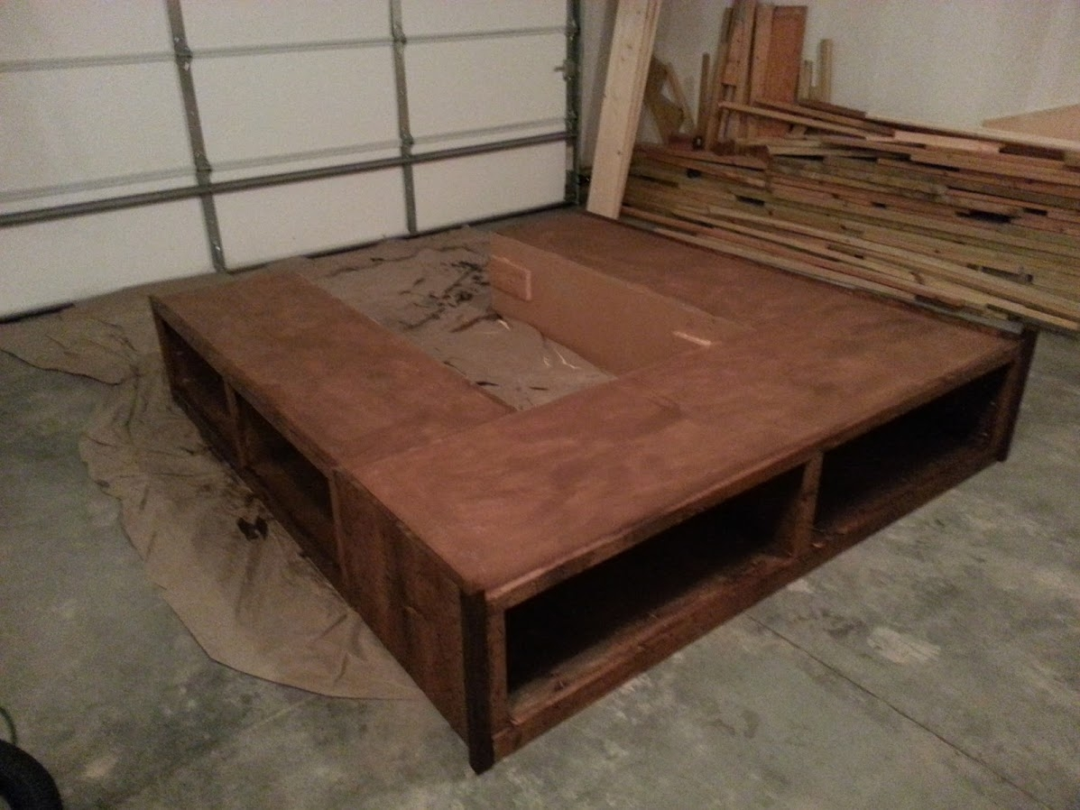 King Bed Frame With Storage