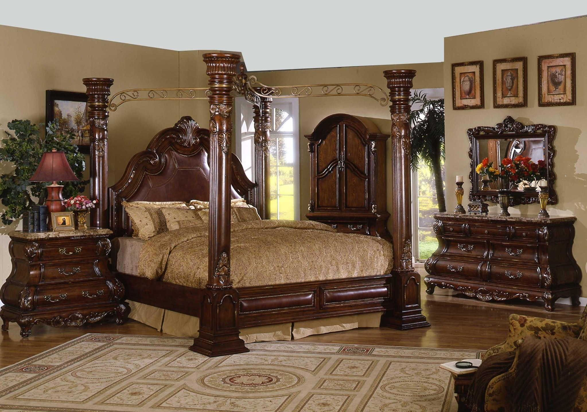 Permalink to King Four Poster Bed Frame