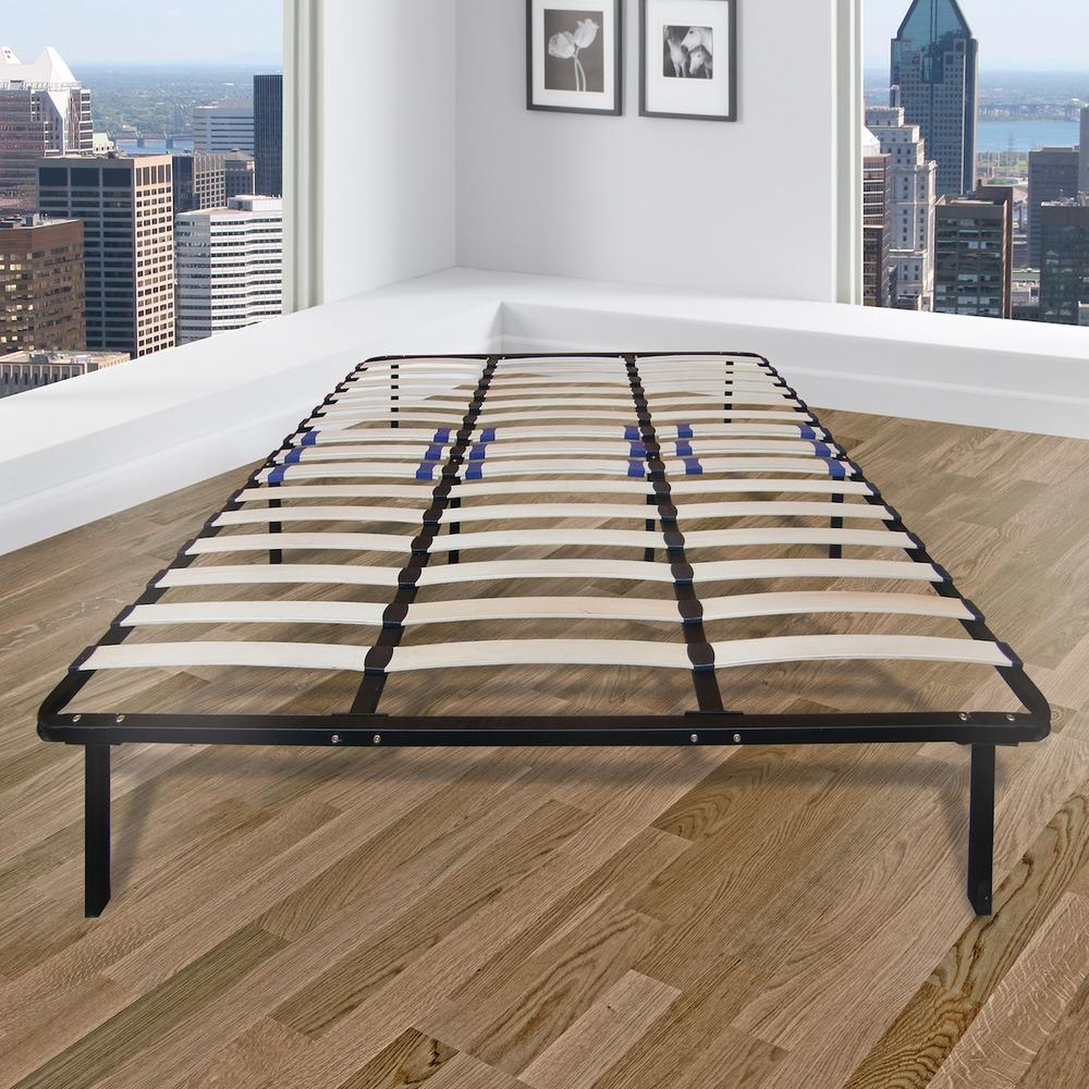 King Size Bed Frame With Slats