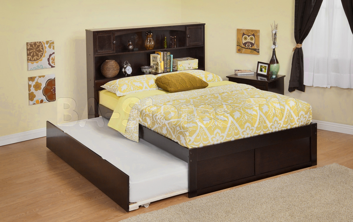 King Size Bed Frame With Trundle