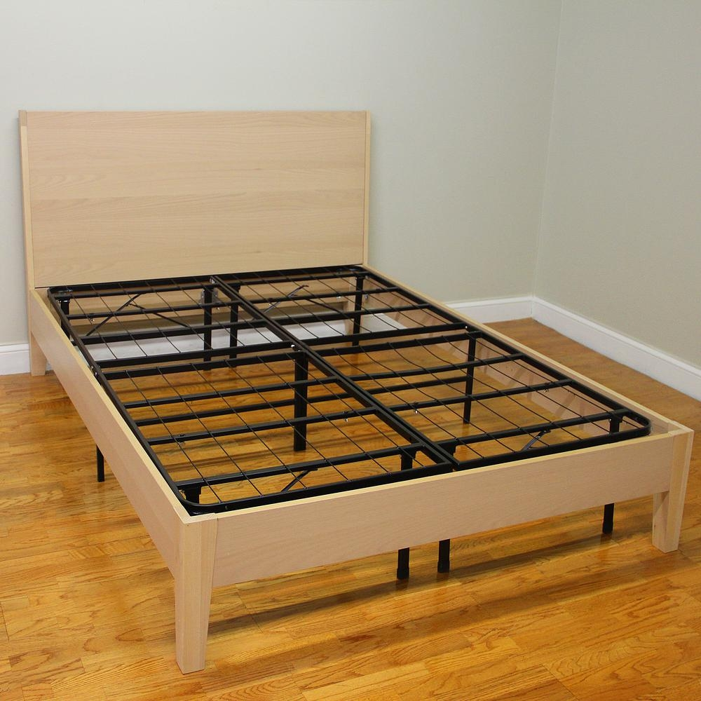 King Size Steel Platform Bed Framehercules king size 14 in h heavy duty metal platform bed frame