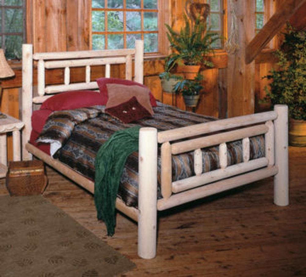 Log Style Queen Bed Frame1000 X 905