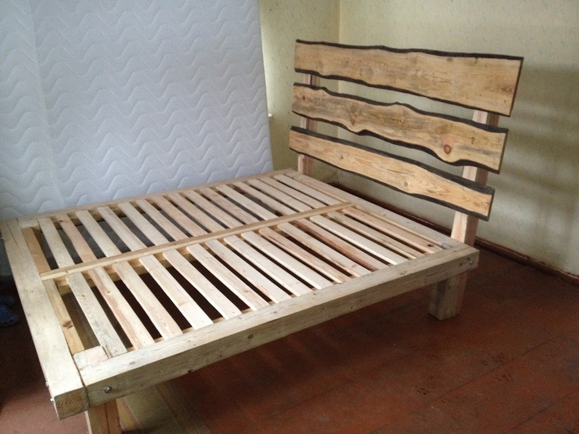 Make A Timber Bed Frame