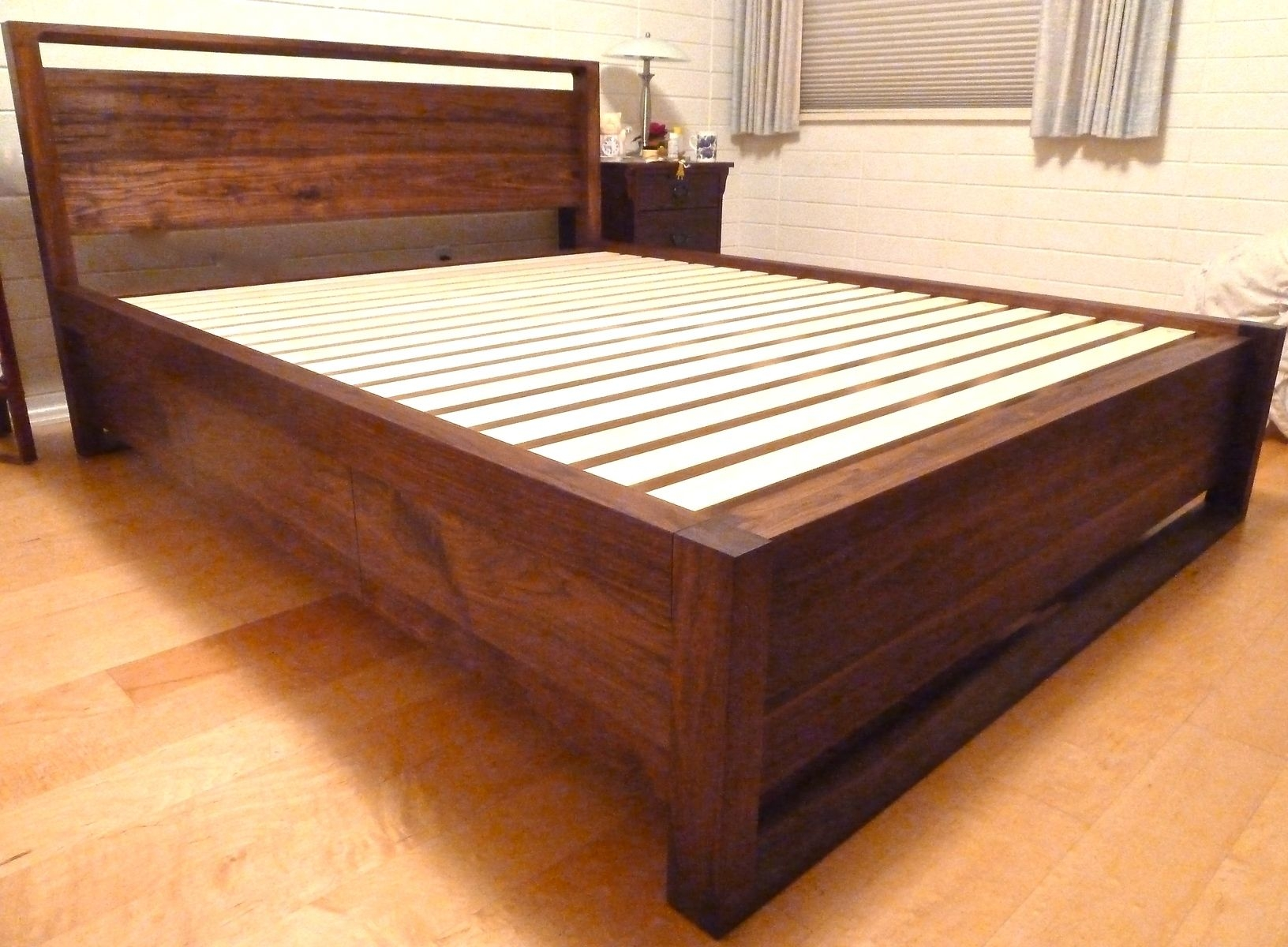 Maple Bed Frame Queen