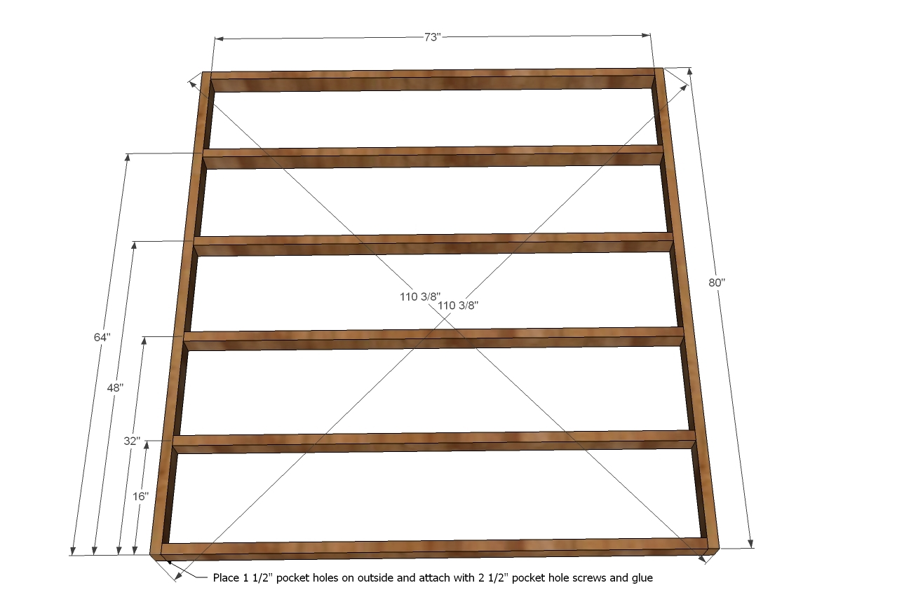 Measurement Of King Size Bed Frame