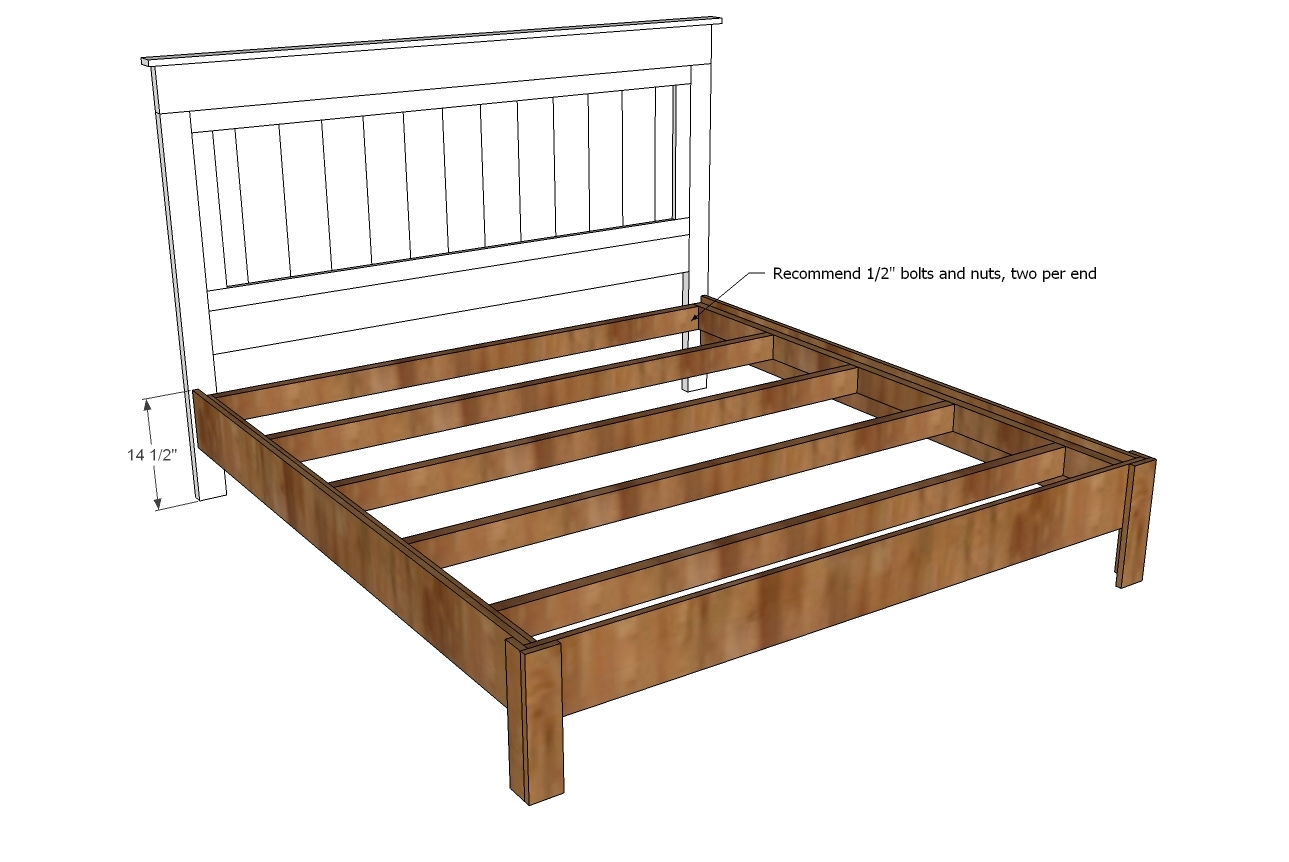 Measurements Of A King Bed Frame