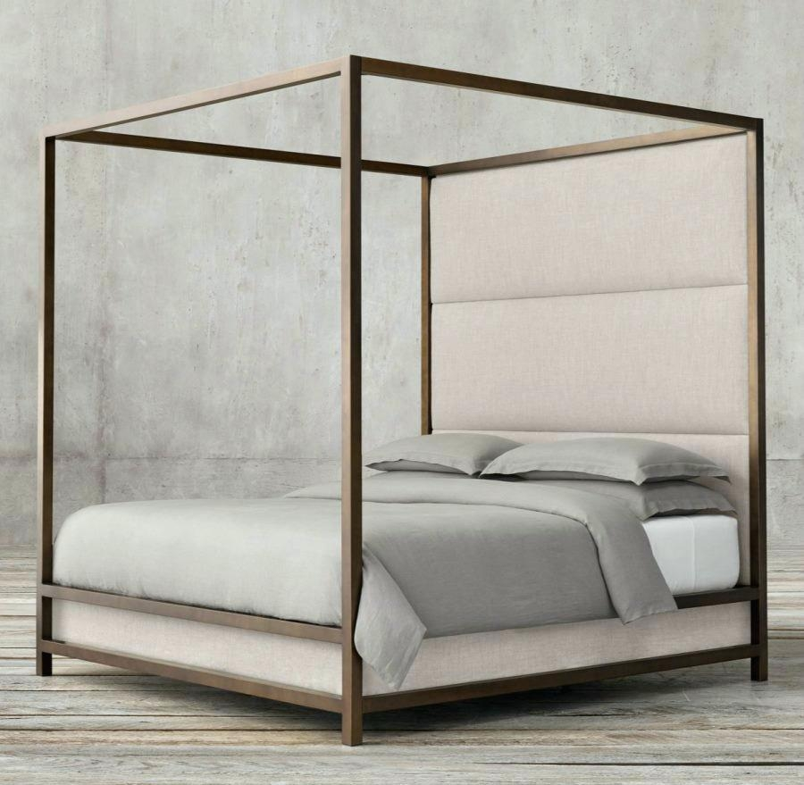 Permalink to Metal Bed Frame Pottery Barn