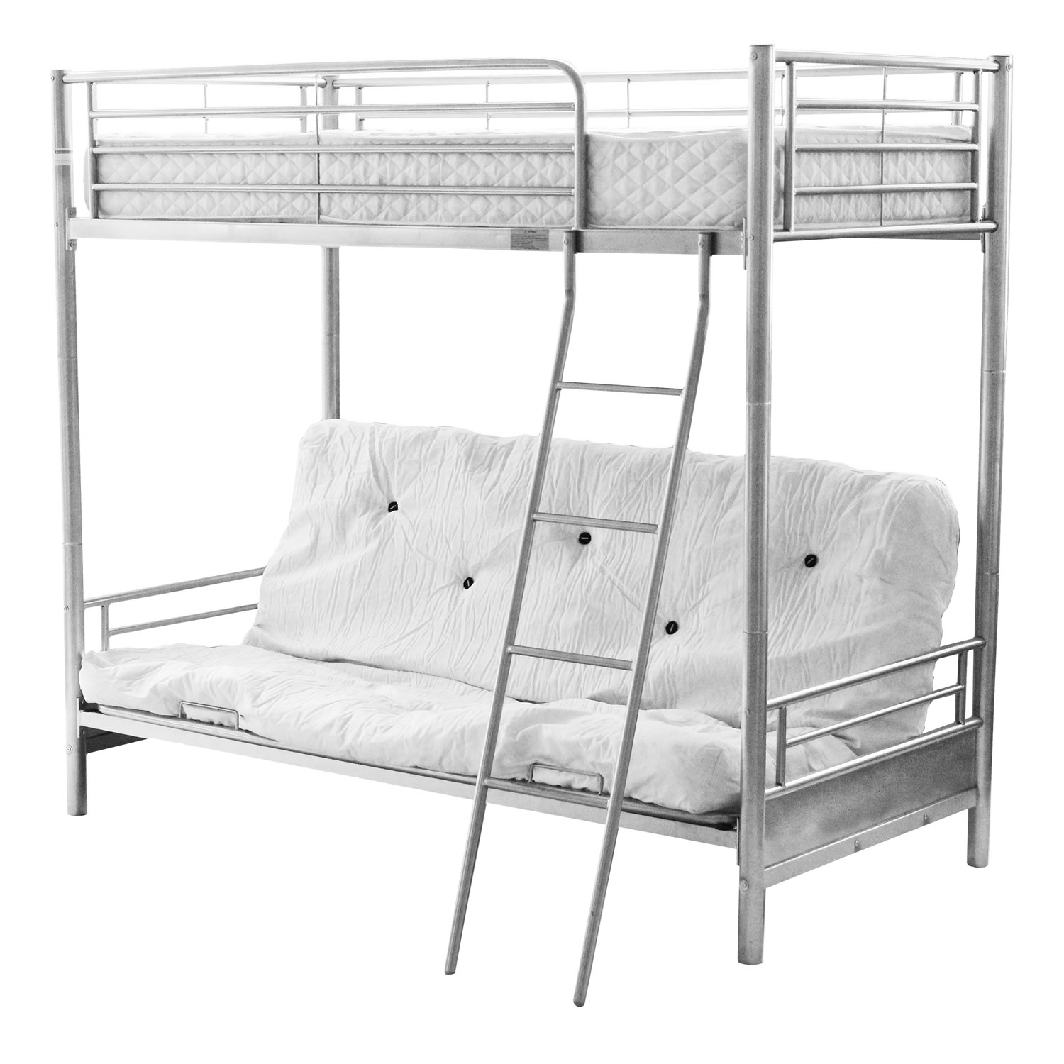 Permalink to Metal Bunk Bed Frame With Futon