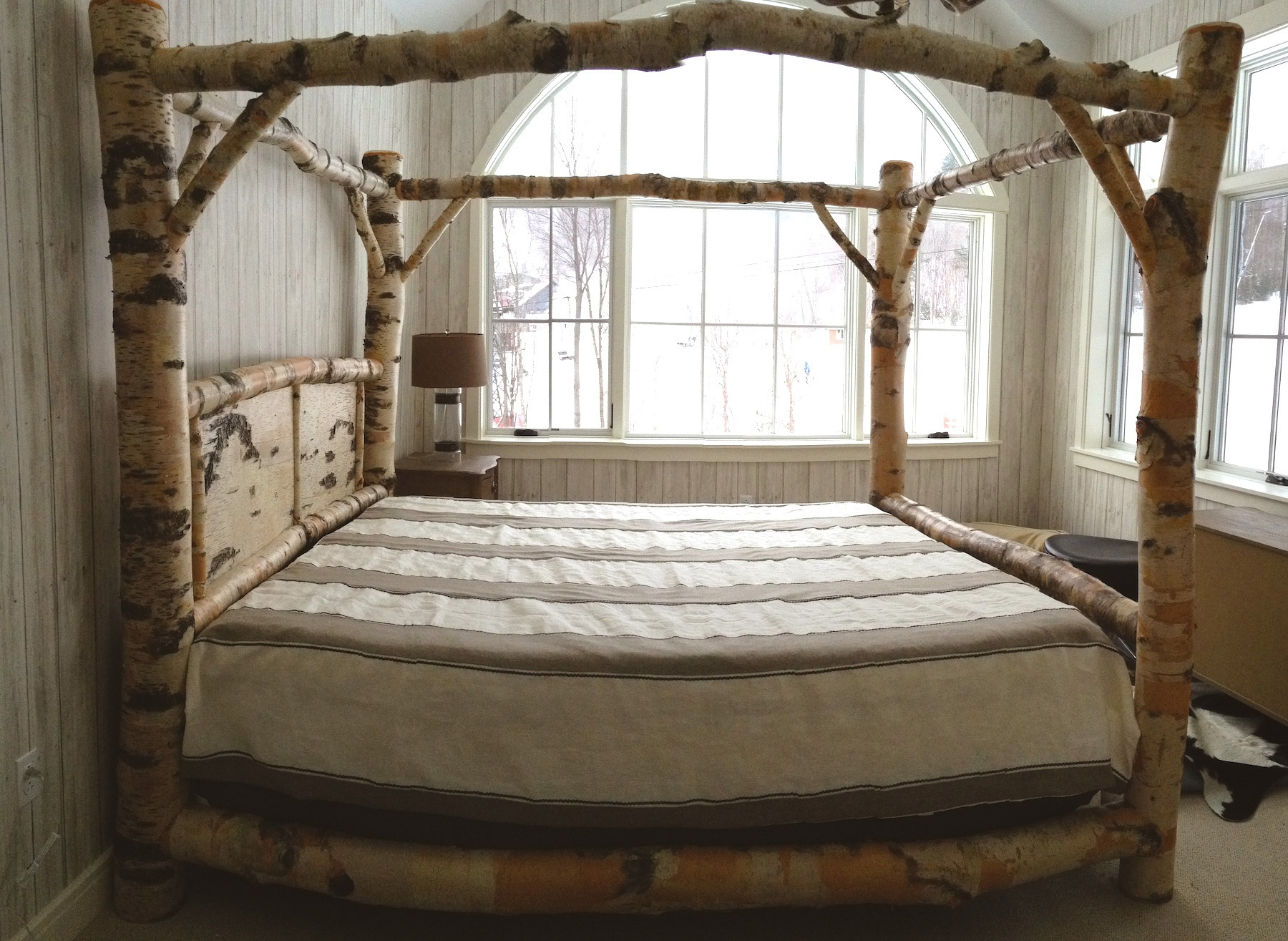 Metal Canopy Bed Frames King