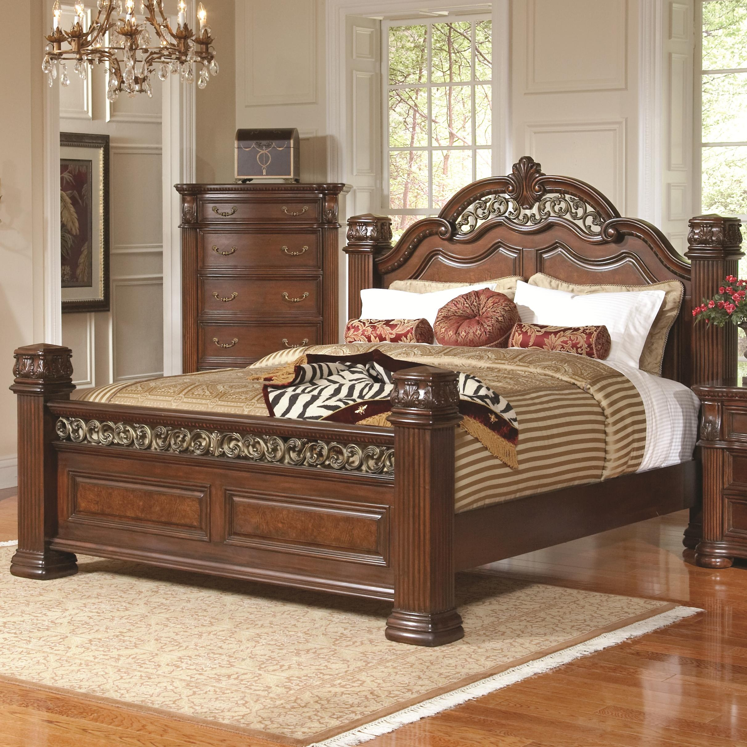 Ornate Wooden Bed Frames