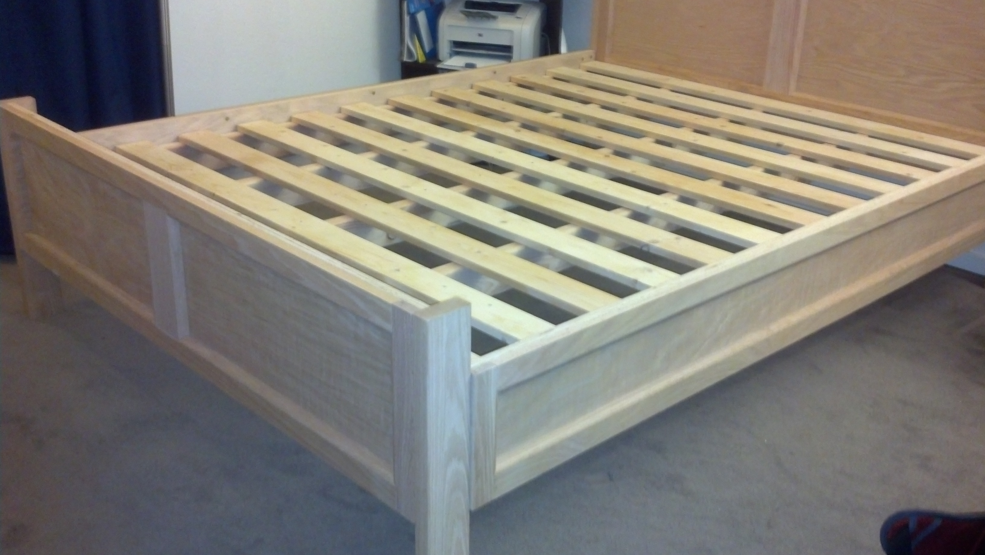 Pottery Barn Queen Bed Frame