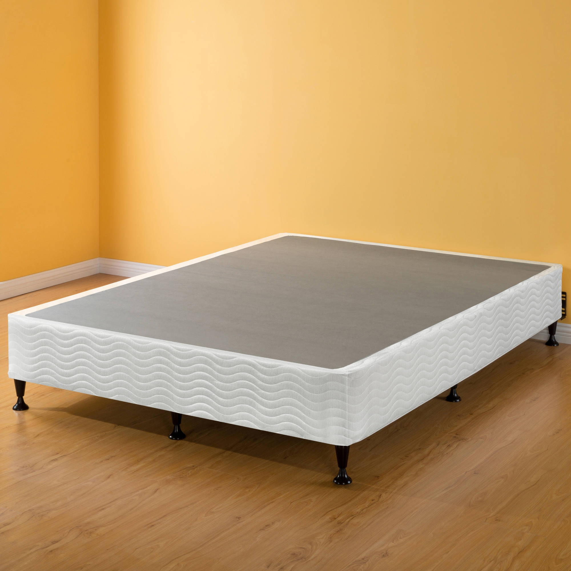 Queen Bed Frame Box Spring Mattress