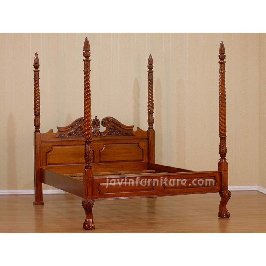 Queen Four Poster Bed Frame