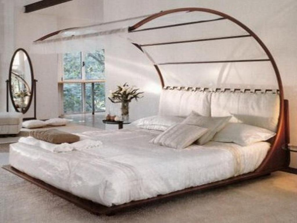 Permalink to Queen Size Canopy Bed Frame White