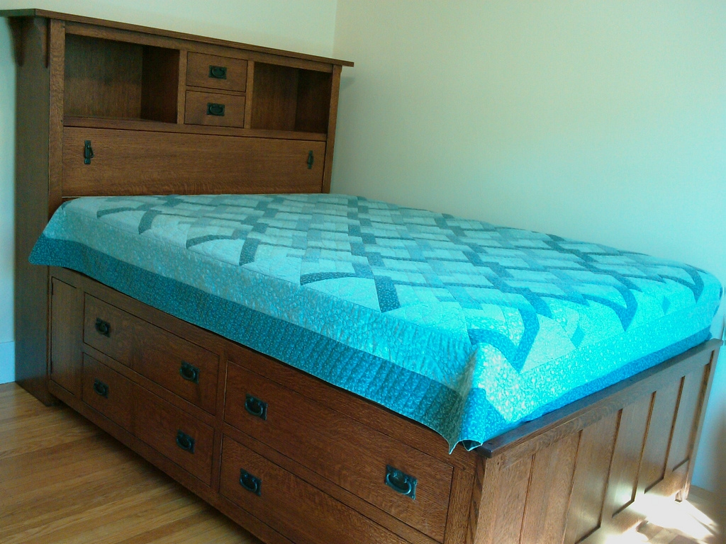 Queen Size Captain Bed Frame