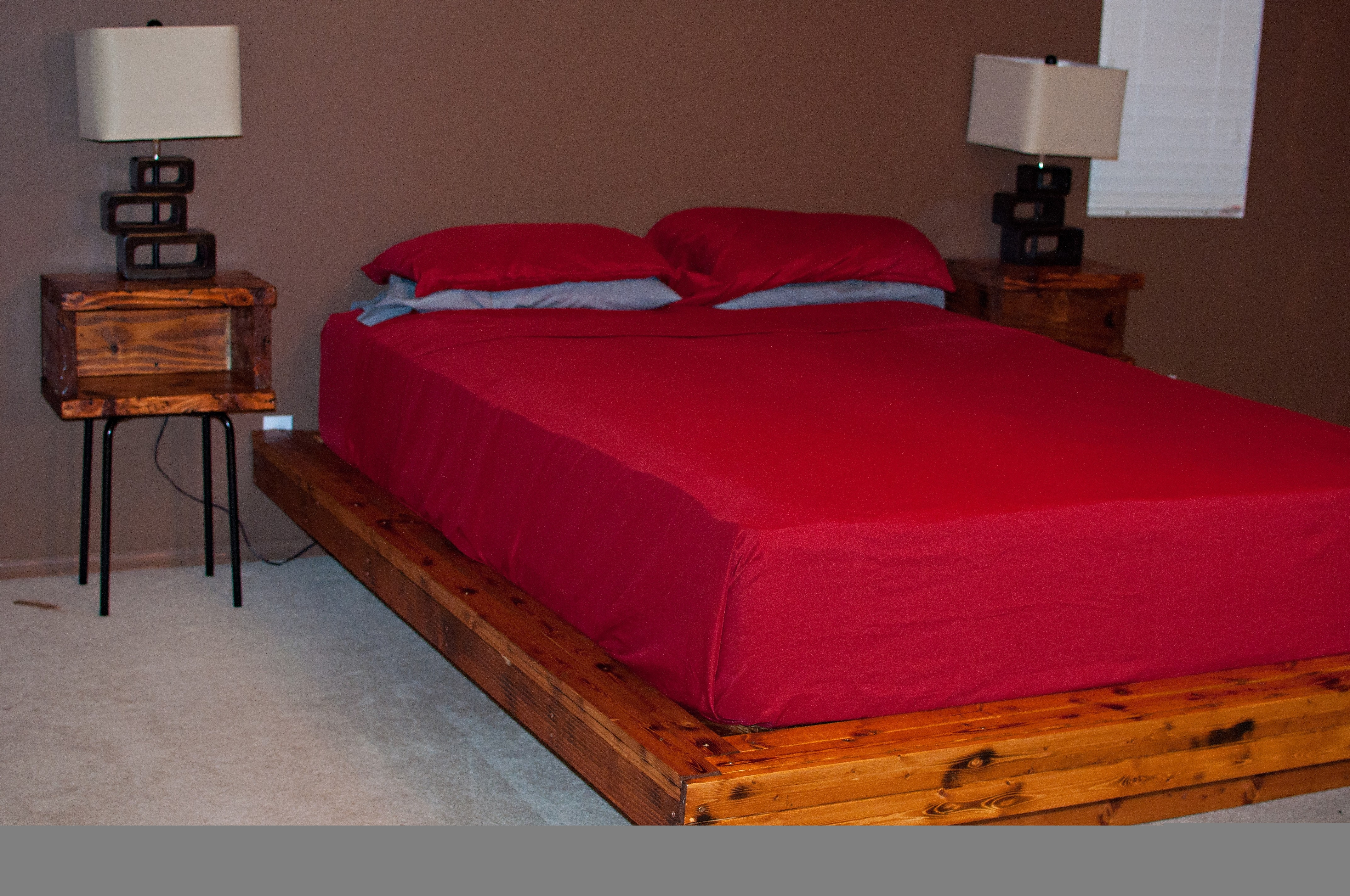 Queen Size Mattress And Bed Frame Set