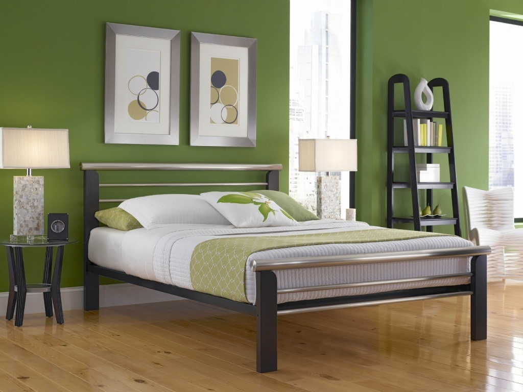 Permalink to Queen Size Sturdy Metal Bed Frame With Headboard And Footboard Attachments