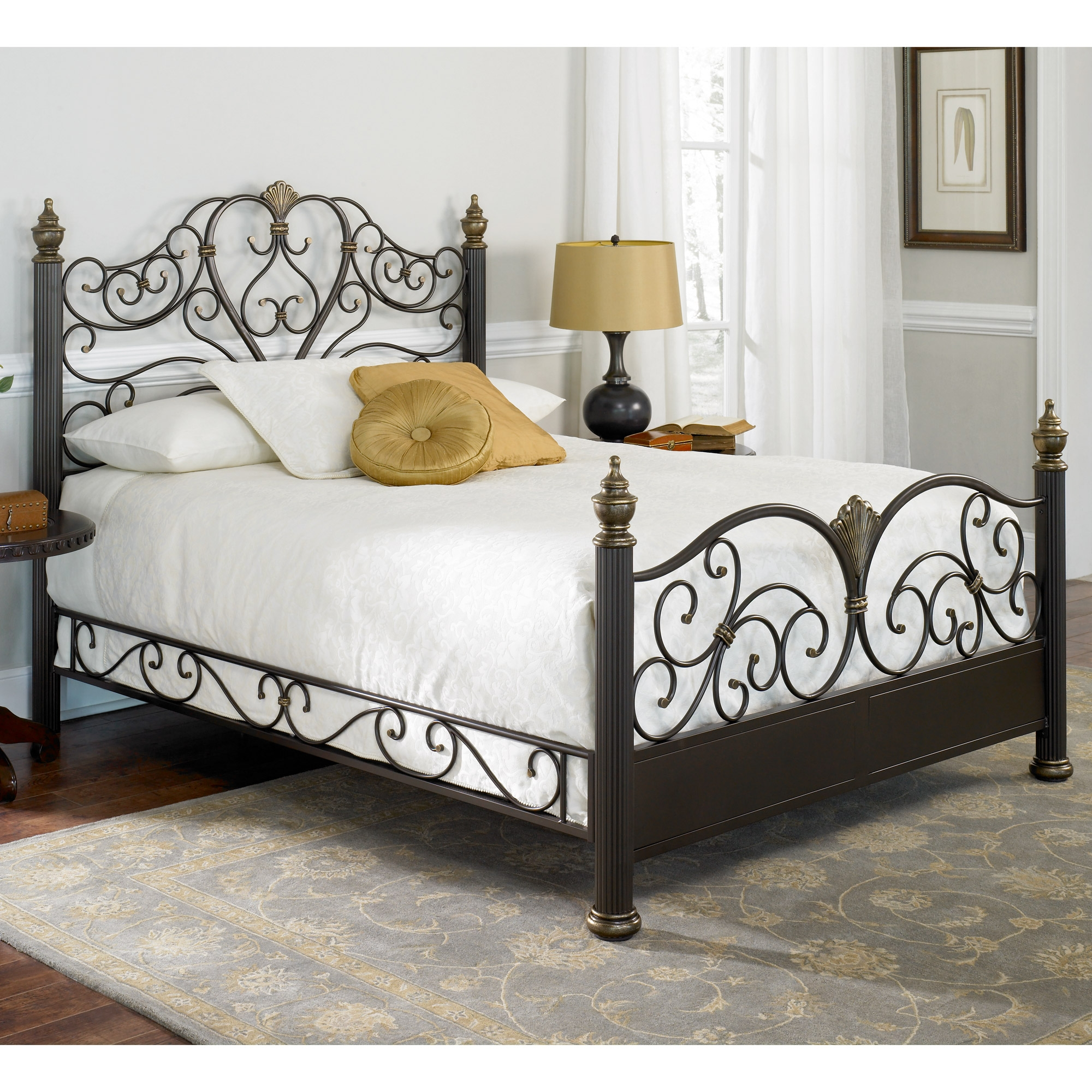 Rot Iron Bed Frame