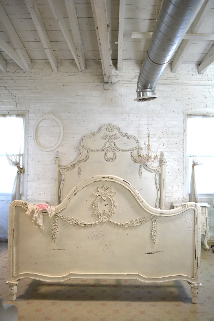 Shabby Chic Bed Frame King