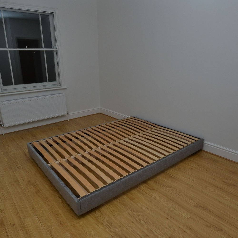 Small Double Platform Bed Frame