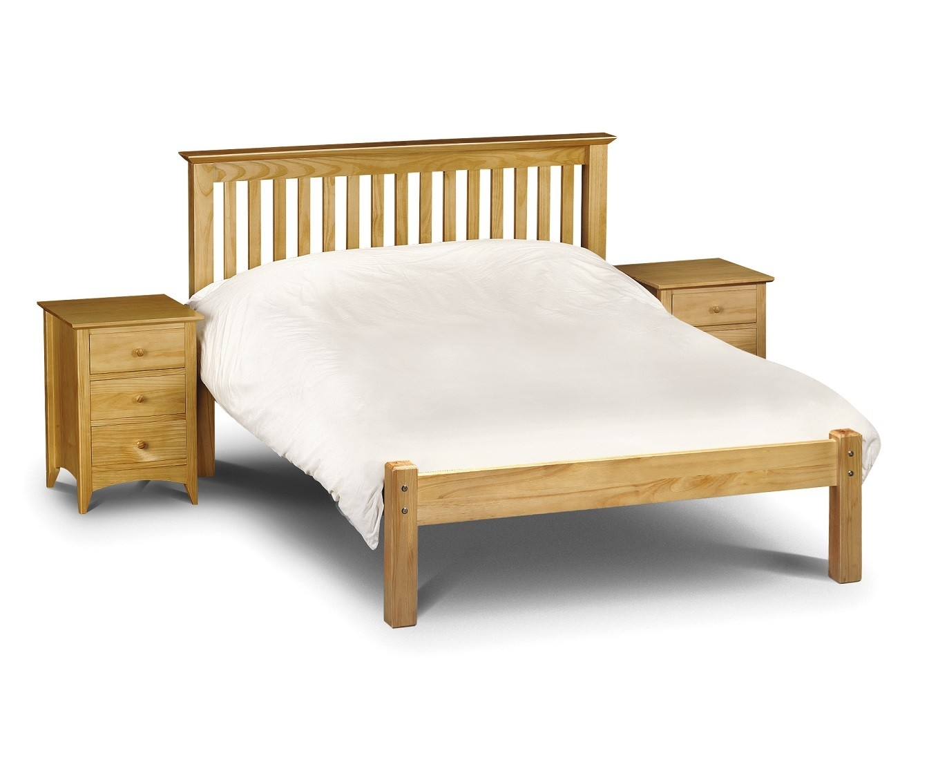 Solid Pine King Size Bed Frame