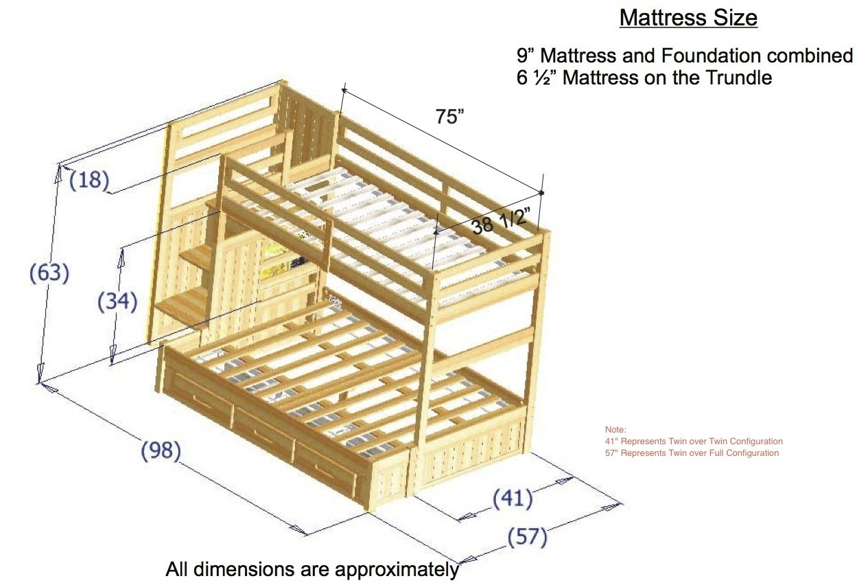 Standard Twin Bed Frame Size