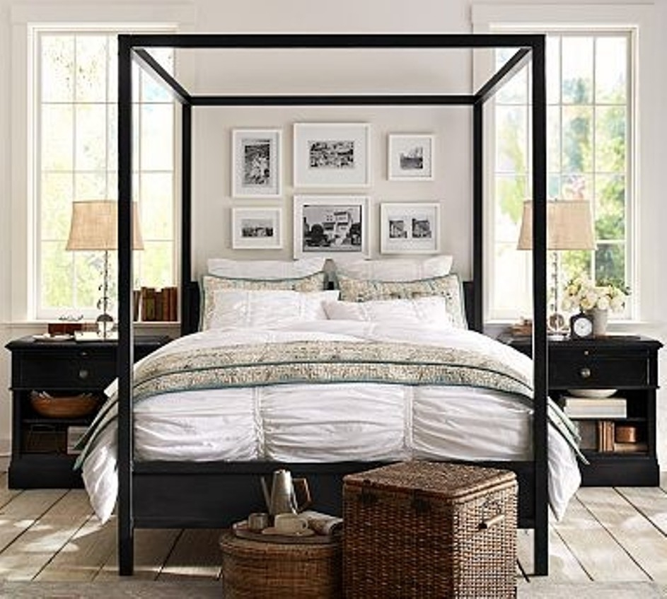 Steel Canopy Bed Frame